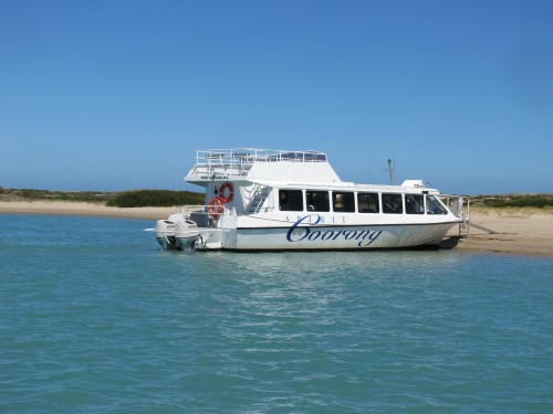 Tourist boat in the Coorong.