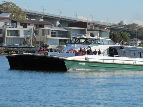Parramatta River ferry
