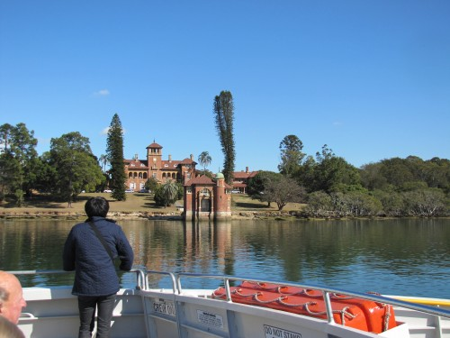 Along the Parramatta River